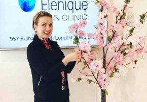 Window Dressing For Elenique Skin Clinic London