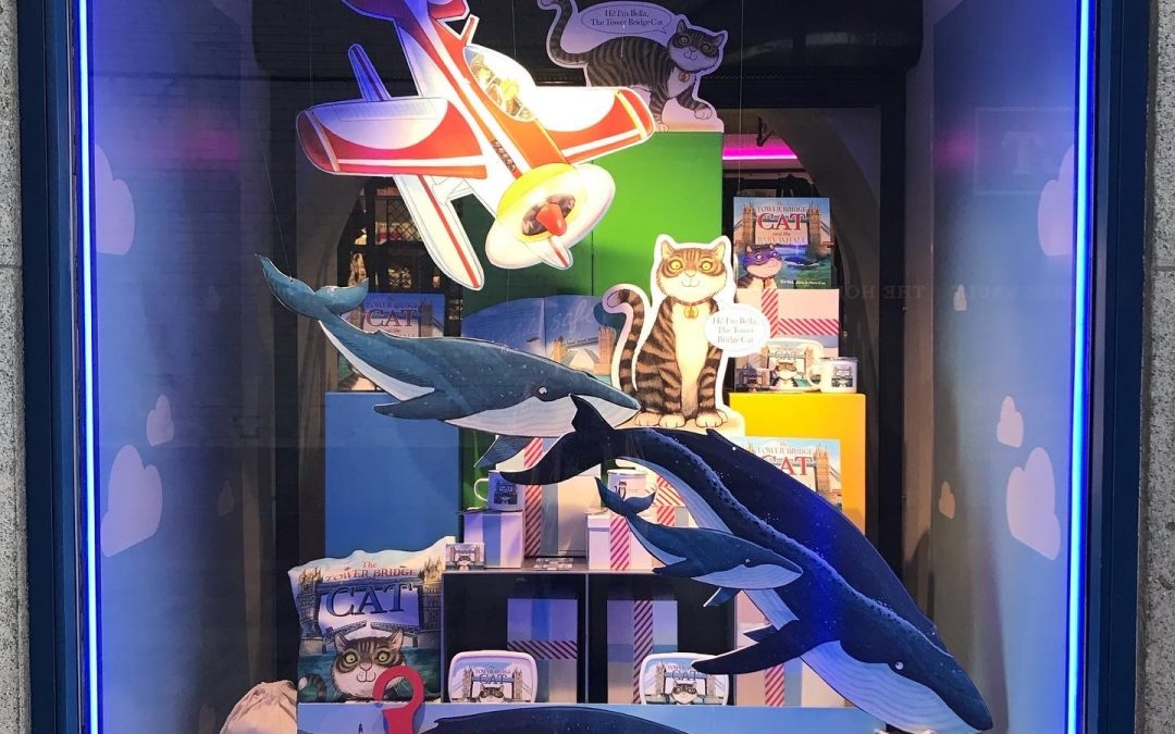 Re-Opening Window Display For Tower Bridge London