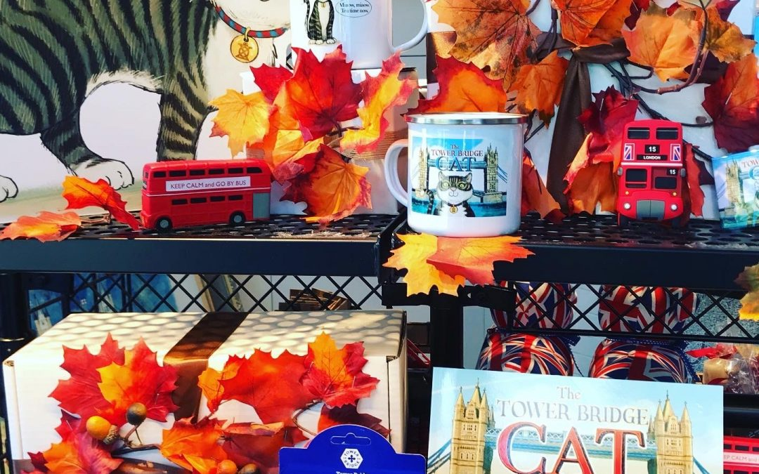 Autumn Window Displays For Tower Bridge