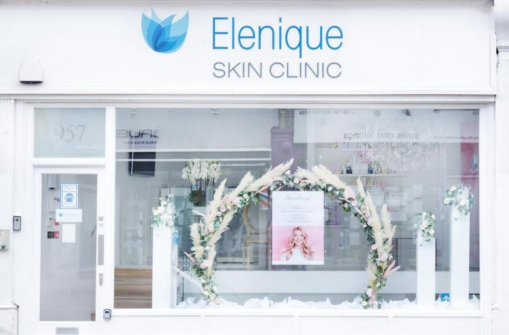Window Installation For Elenique Skin Clinic Spring 2021