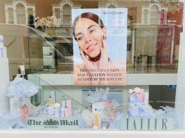 New Season Window Displays at Elenique Skin Clinic London